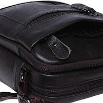 Мужская кожаная сумка Borsa Leather K1223-brown, фото 8