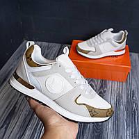 Louis Vuitton белые луи витон кроссовки женские