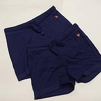 Дитячі підліткові трикотажні шорти темно сині для дівчинки Cool club, фото 1