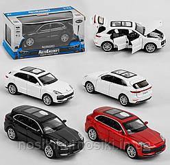 "Машинка 24705 ""Auto Expert"", 3 вида, металлопластик, масштаб 1:32, подсветка фар, звук, инерция"