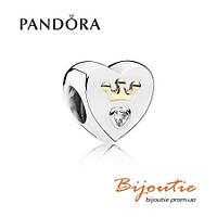 Pandora шарм ВОЛШЕБНОЕ СЕРДЦЕ 791739CZ серебро 925 Пандора оригинал