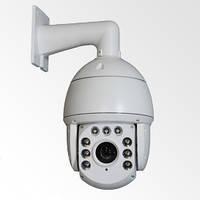Высокоскоростная вандалозащищенная купольная IP видеокамера VLC-D1920Z20-IR.