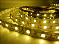 Светодиодная лента SMD 5050 (60 LED/m) IP20 Тёплый Standart