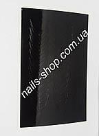 Чёрные наклейки для ногтей №4 (33 шт)