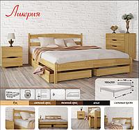 """Двуспальная кровать """"Лика"""" с ящиками, фото 1"""
