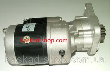 Стартер редукторний 12в 2,7 кВт MF GLAAS JCB, фото 2