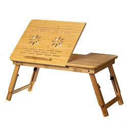 Столик трансформер для завтрака и компьютера 35х55 см 18802-004