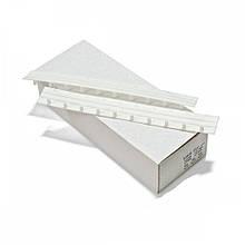 Пластини для палітурки Agent Press-Binder 20 мм Білі 50 шт