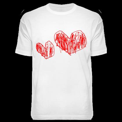 Футболка 2H1L (two hearts one love)