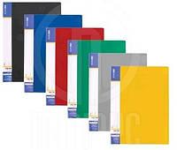Папка ECONOMIX пластикова А4 з 30 файлами мікс