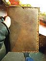 Шкіряна обкладинка з вкладишами для автодокументів, фото 2