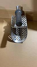 Скуб для пляжного поиска с металлоискателем! Сталь 1,5 мм. Длина 250 мм! Пляжный совок, скуп, фото 2