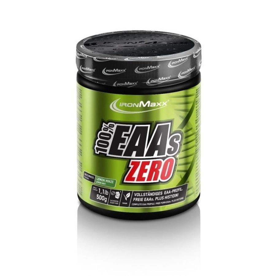 Амінокислота IronMaxx 100% EAAs Zero, 500 грам Лимон-м'ята