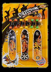 Фингерборд пальчиковый скейт 3 в 1 Fingerboard с набором для ремонта