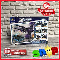 Конструктор X-AGENT, 378 дет  (6604)