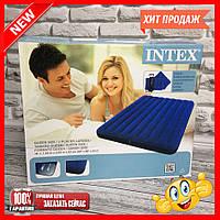Надувний матрац Intex з насосом і подушками 68765