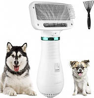 Фен расческа для животных Pet Grooming Dryer