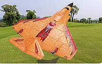 Літак на радіоуправлінні X-320 Mini помаранчевий  радіокерований літак зі світлодіодним підсвічуванням пінопласт
