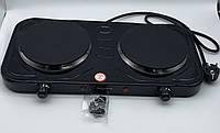 Электроплита дисковая на две конфорки Rainberg RB-999