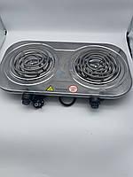 Двух комфорочная электрическая плита Rainberg RB- 008