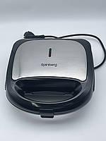 Гриль, вафельниця, бутербродниця, горішниця Rainberg RB-5408 мультимейкер 4 в 1