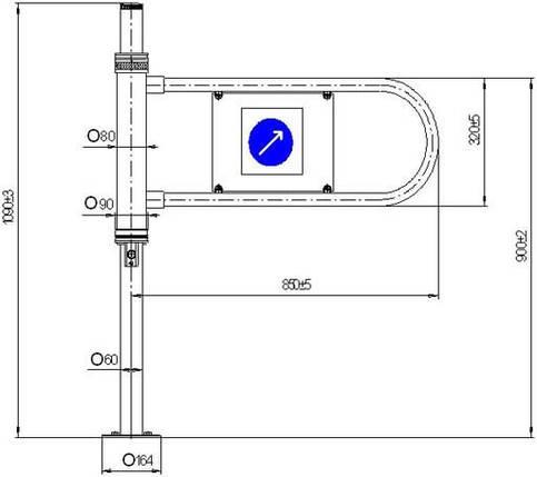 Калитка механическая МК-3.0, фото 2
