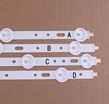 """Комплект LED підсвічування PHILIPS 40"""" SVS400A73 SVS400A79 PHILIPS 40PFL3107/60 40PFL3118T/12 40PFL3118E/12 ..., фото 3"""