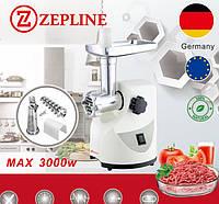 Электромясорубка с насадкой для томатов  Zepline ZP-003 3000 Вт