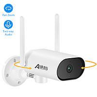 Anran 5Mp PTZ, IP, WiFi поворотная камера видеонаблюдения внутренняя/внешняя