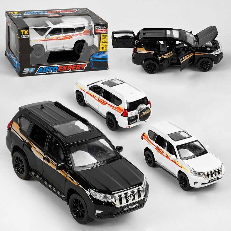 """Машина 32553 / 23503 (72) 2 кольори, """"AutoExpert"""", иннерция, світло, звук, на батарейках в коробці"""
