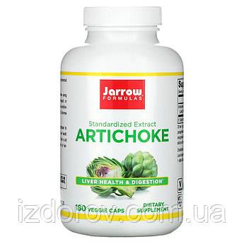 Jarrow Formulas, Артишок для здоров'я печінки, жовчного міхура і серця, Artichoke, 500 мг, 180 капсул. США