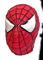 Маска Спайдермен Человек паук латексная