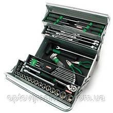 Набір інструментів в ящику TOPTUL (5 секцій) 63 од. GCAZ0039