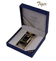 Электро-импульсная USB зажигалка TIGER №4676