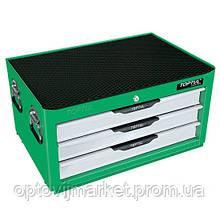 Ящик для СТО, інструмент TOPTUL (Pro-Line) 3 секції 157 од. GCAZ0011