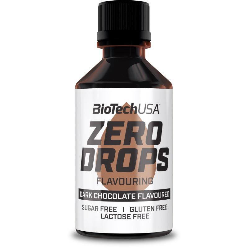 Підсолоджувач Zero Drops BioTech 50 мл Чорний шоколад