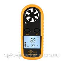 Цифровий анемометр 0,1-30м/с, -10-45°C BENETECH GM816