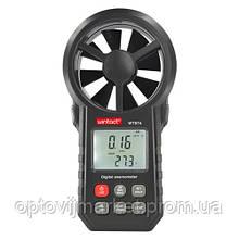 Крильчатий Анемометр 0,3-30м/с, -10-45°C WINTACT WT87A