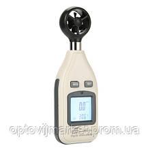 Цифровий анемометр 0,1-30м/с, -10-45°C BENETECH GM816A