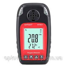 Датчик концентрації кисню O2 + термометр (0-25% VOL 0-50°C) WINTACT WT8821