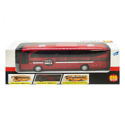 Автобус іграшка на батарейках (червоний)