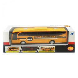 Игрушка автобус на батарейках (желтый)