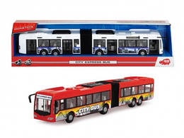 Детская игрушка автобус с открывающимися дверями, Dickie Toys, Автобус с гармошкой