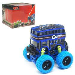 Іграшка автобус, з великими колесами Монстр Бус