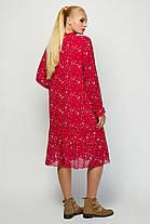Ультрамодное платье в стиле oversize Большой размер от 52 до 60, фото 3