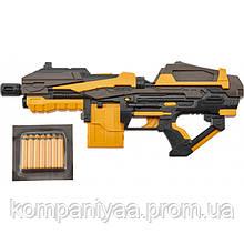 Детский игрушечный бластер с мягкими пулям FJ1054 (10 патронов)