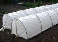 Парник Агро-Теплица из агроволокна 4 метра в комплекте с колышками