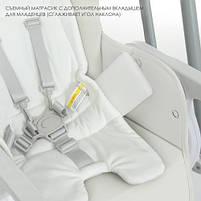 Стільчик-гойдалка ME 1087 SWAN White, фото 8