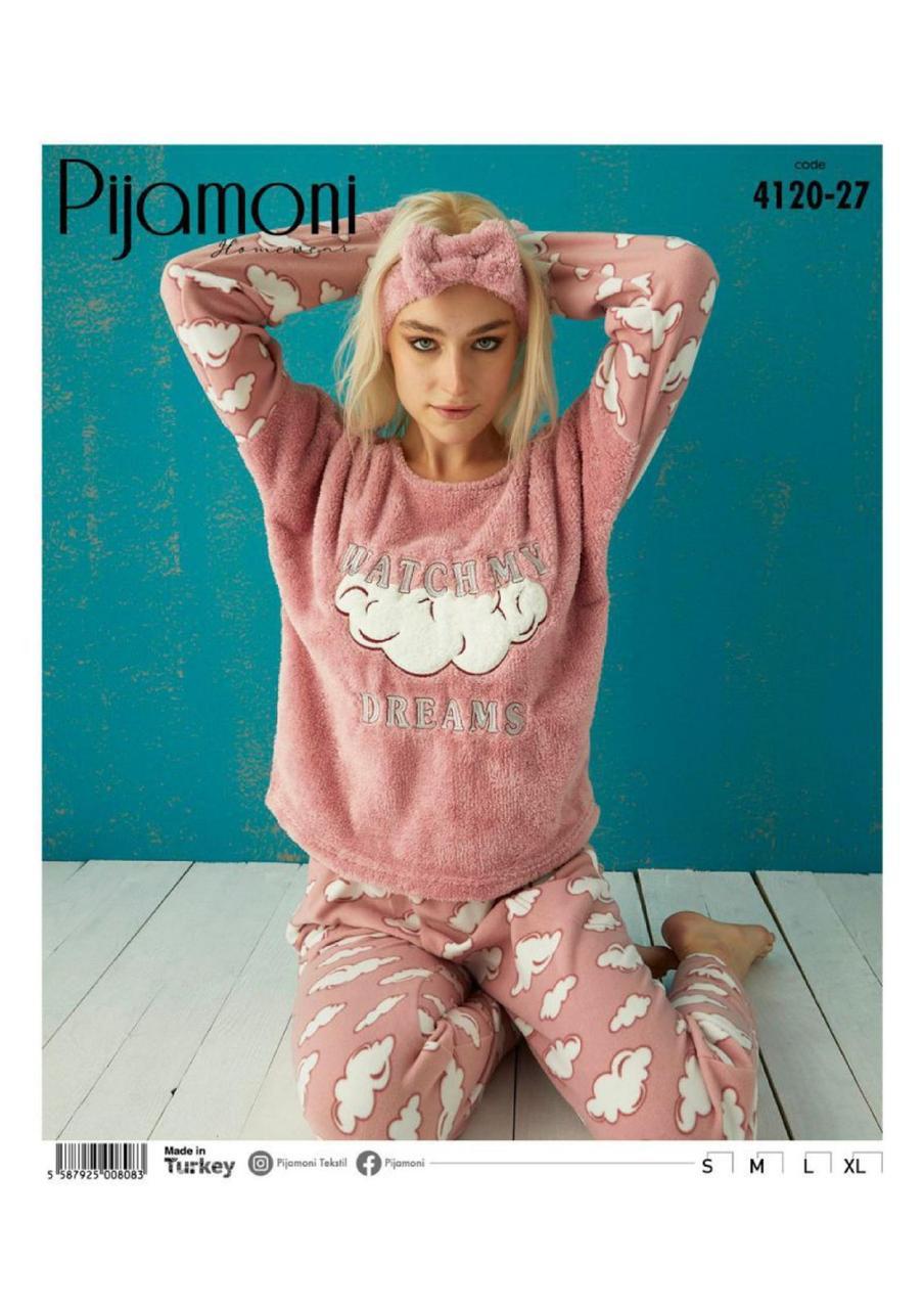 Жіноча флісова піжама Pijamoni Watch my dreams