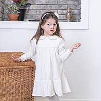 Белое новогоднее платье детское ангора, платье на новый год девочке, новогоднее платье для детей